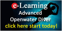 PADI Advanced Open Water Online Course